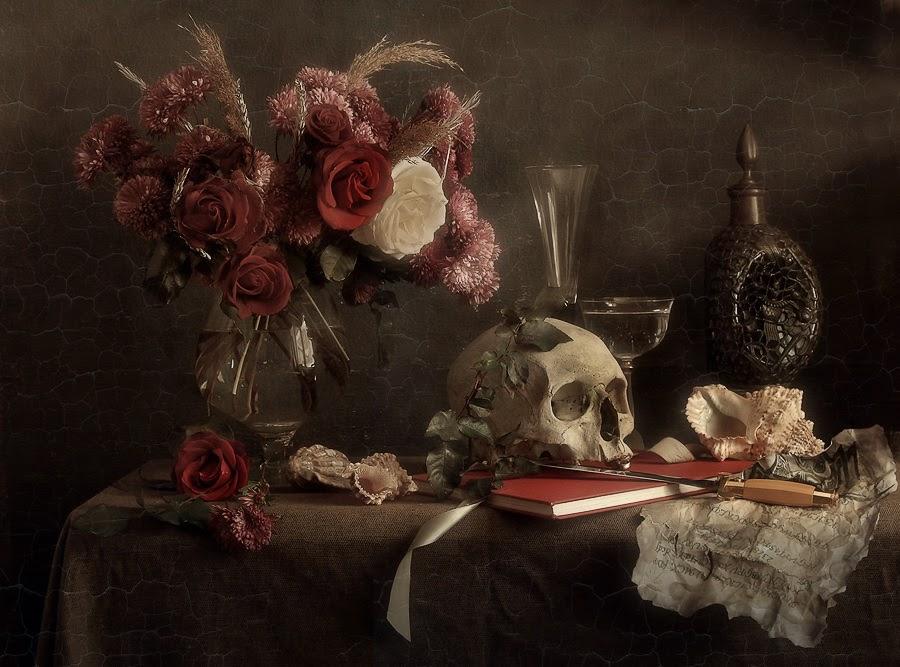 Dipinto notturno della Morte