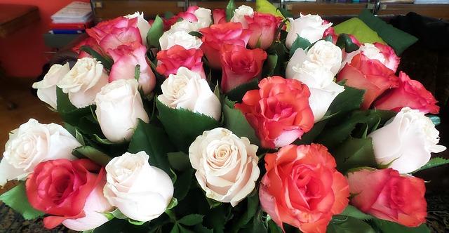 Amore mio, tu sei un dolce mazzo di fiori